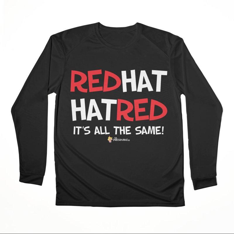 RedHat Men's Performance Longsleeve T-Shirt by thePresidunce