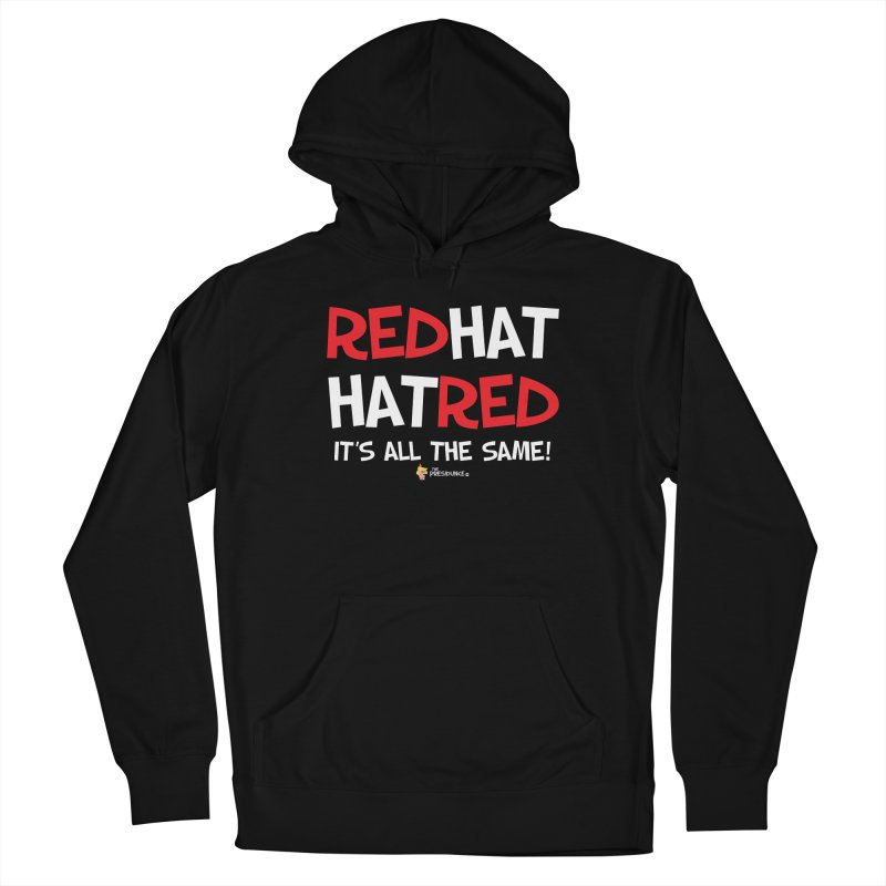RedHat Men's French Terry Pullover Hoody by thePresidunce