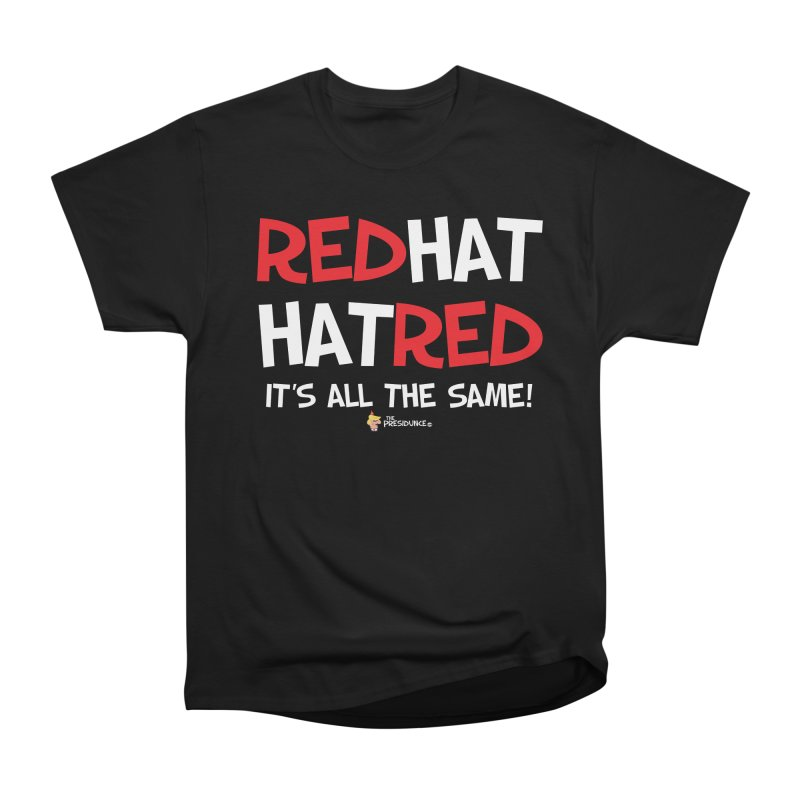 RedHat Men's Heavyweight T-Shirt by thePresidunce