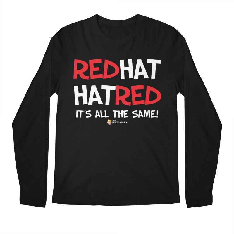 RedHat Men's Regular Longsleeve T-Shirt by thePresidunce