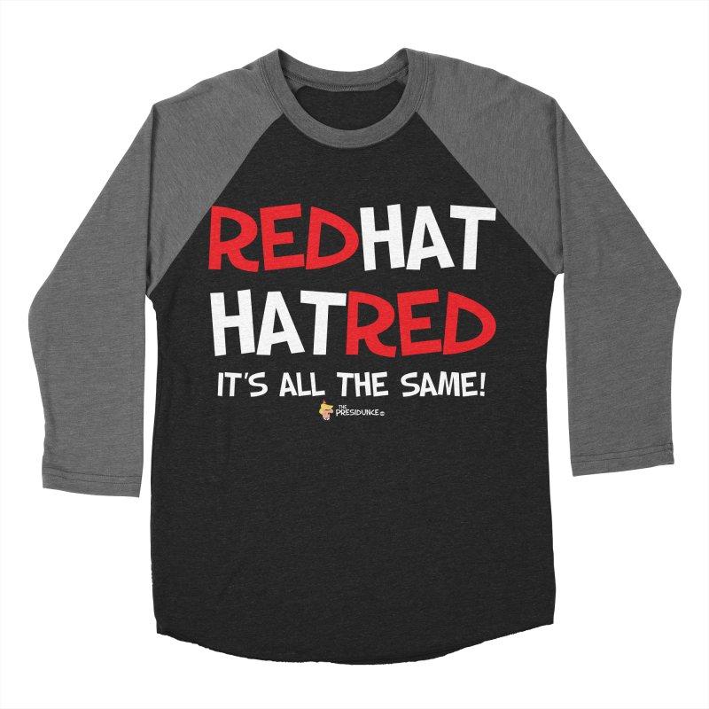 RedHat Women's Baseball Triblend Longsleeve T-Shirt by thePresidunce