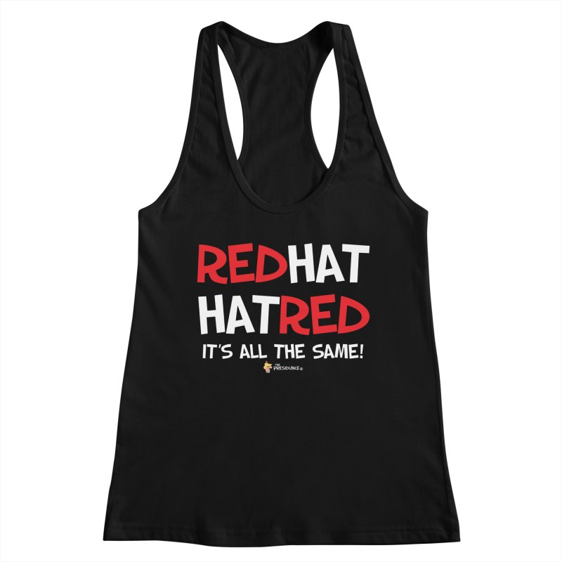 RedHat Women's Racerback Tank by thePresidunce