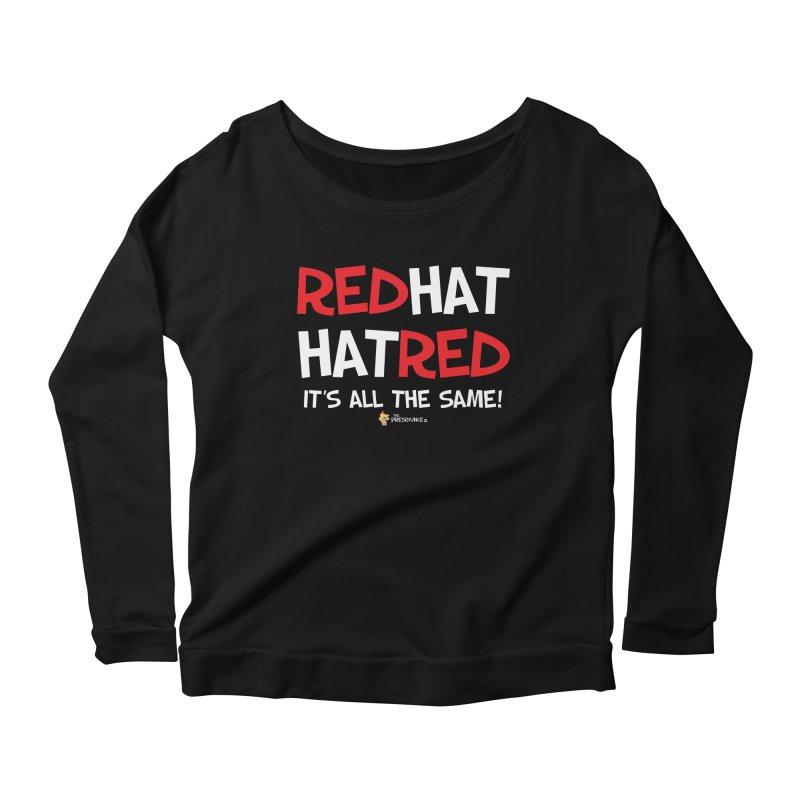 RedHat Women's Scoop Neck Longsleeve T-Shirt by thePresidunce