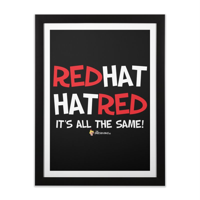 RedHat Home Framed Fine Art Print by thePresidunce