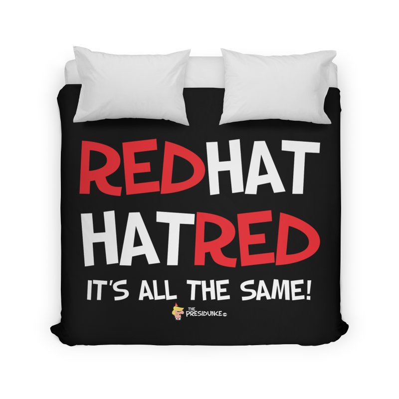 RedHat Home Duvet by thePresidunce