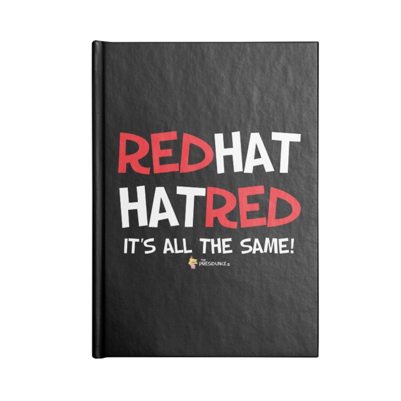 RedHat Accessories Lined Journal Notebook by thePresidunce