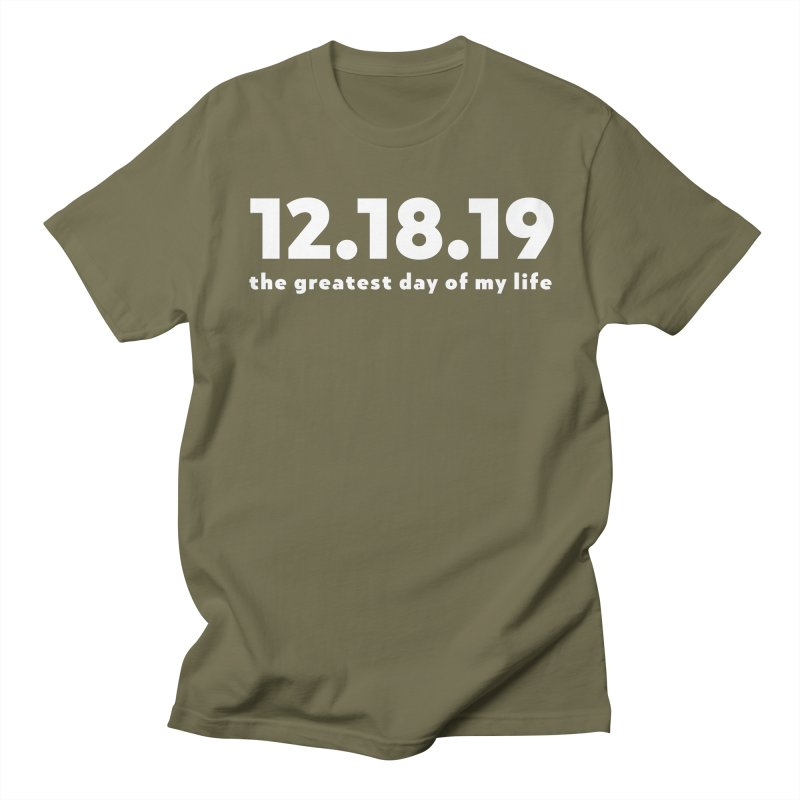 12.18.19 Men's T-Shirt by thePresidunce