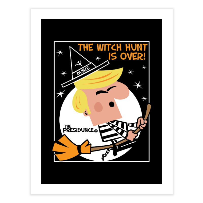 Witch Hunt Home Fine Art Print by thePresidunce