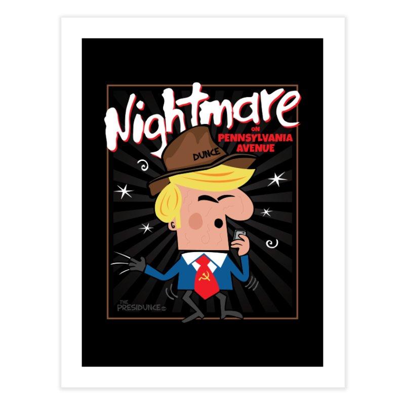 Nightmare Home Fine Art Print by thePresidunce