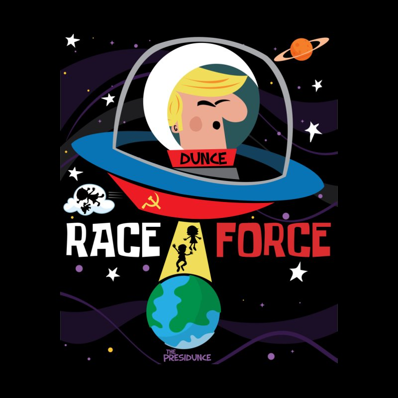 Race Force Men's T-Shirt by thePresidunce