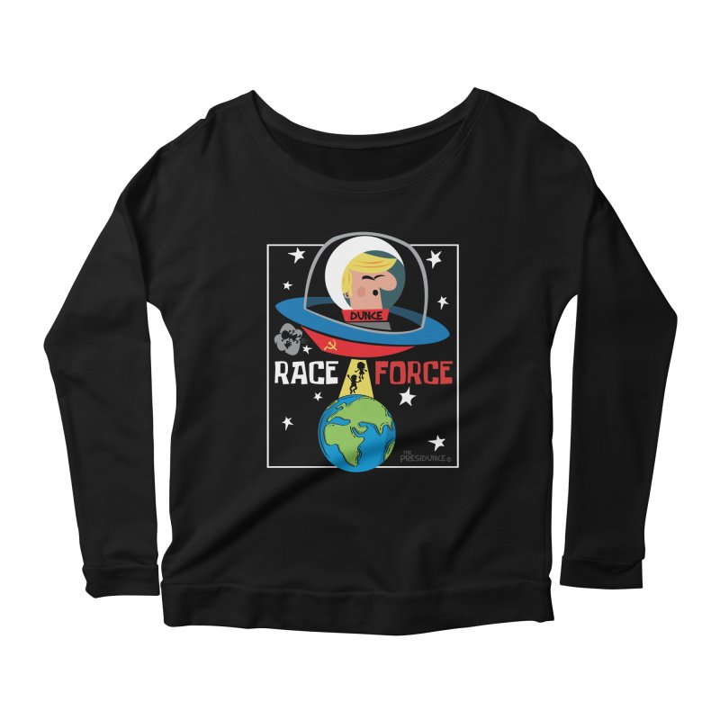 Race Force Women's Scoop Neck Longsleeve T-Shirt by thePresidunce