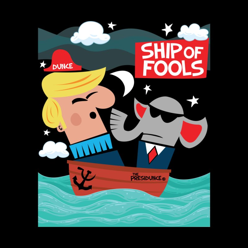 Ship of Fools Men's T-Shirt by thePresidunce