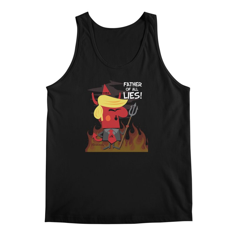Father of All Lies Men's Regular Tank by thePresidunce