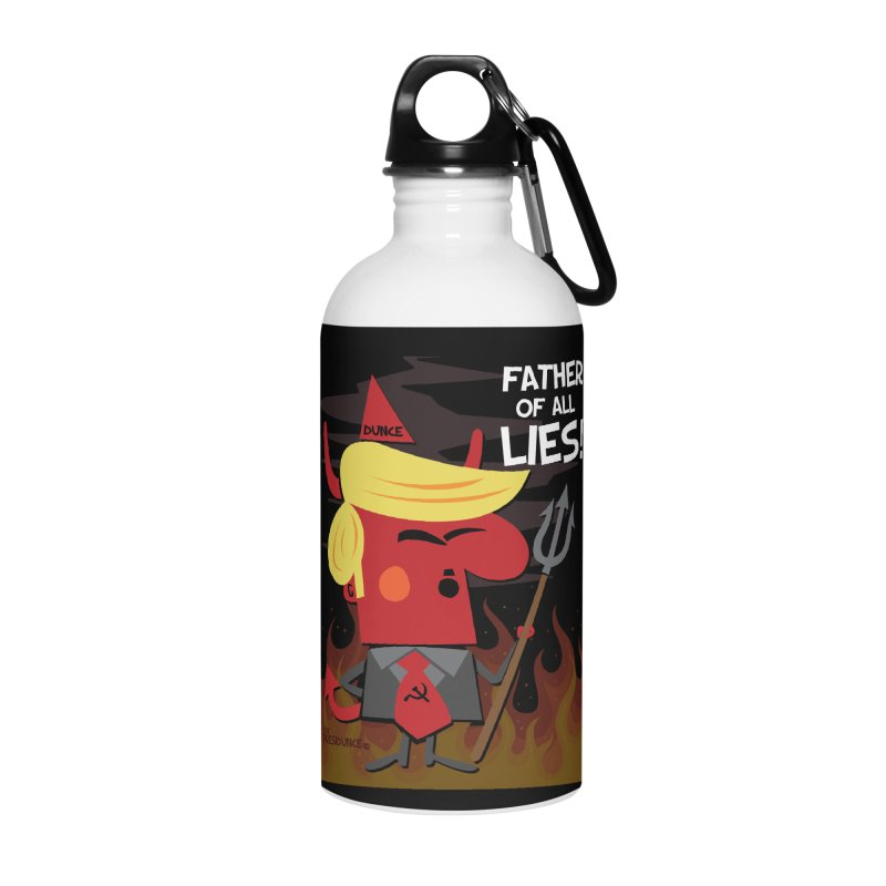 Father of All Lies Accessories Water Bottle by thePresidunce