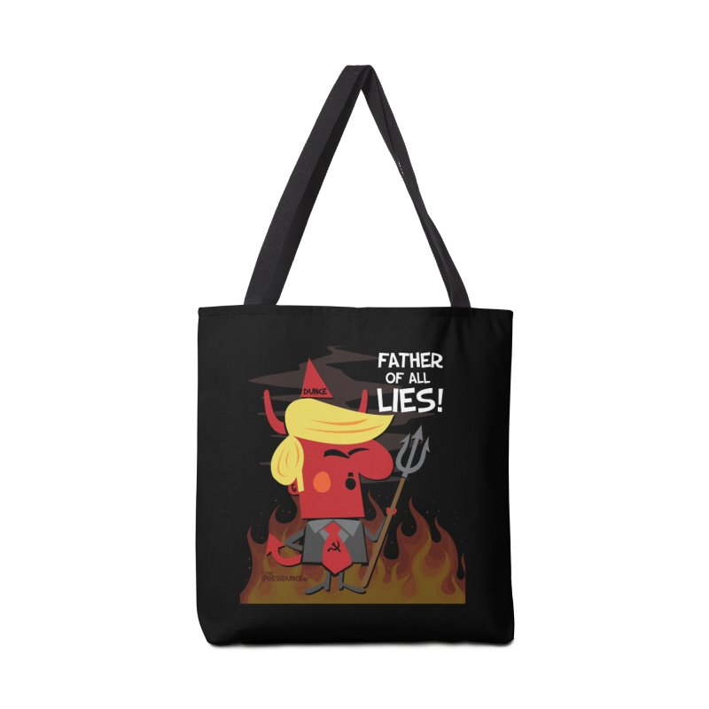Father of All Lies Accessories Tote Bag Bag by thePresidunce
