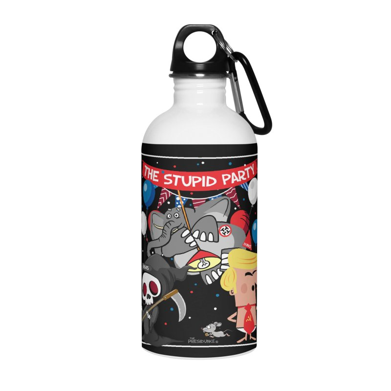 The Stupid Party Accessories Water Bottle by thePresidunce