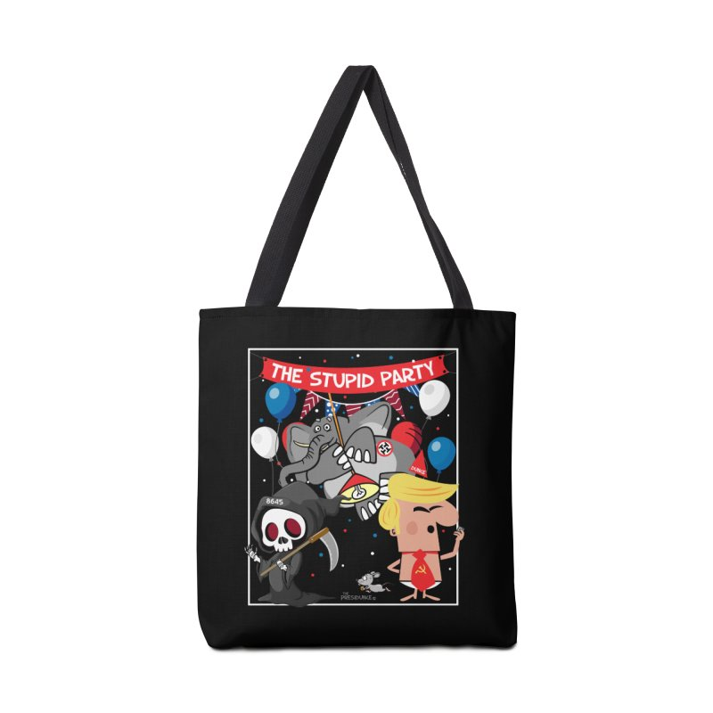 The Stupid Party Accessories Tote Bag Bag by thePresidunce