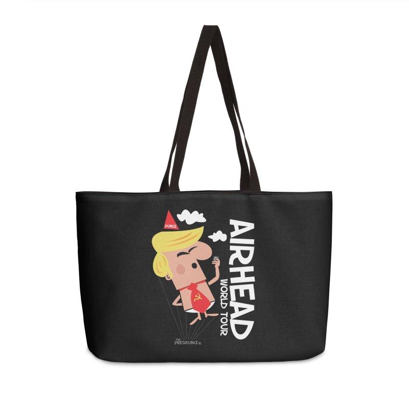 Airhead Accessories Weekender Bag Bag by thePresidunce