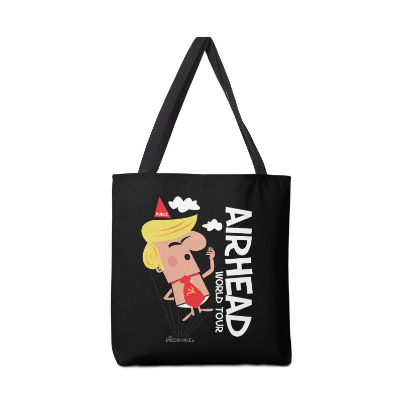 Airhead Accessories Tote Bag Bag by thePresidunce