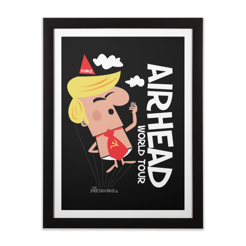 Airhead Home Framed Fine Art Print by thePresidunce