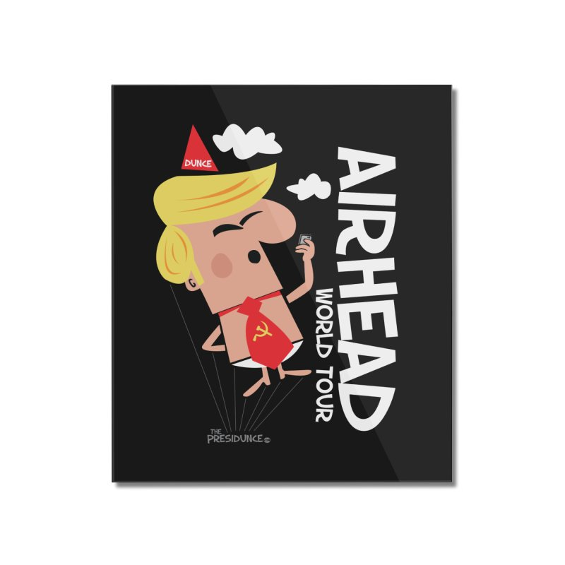 Airhead Home Mounted Acrylic Print by thePresidunce