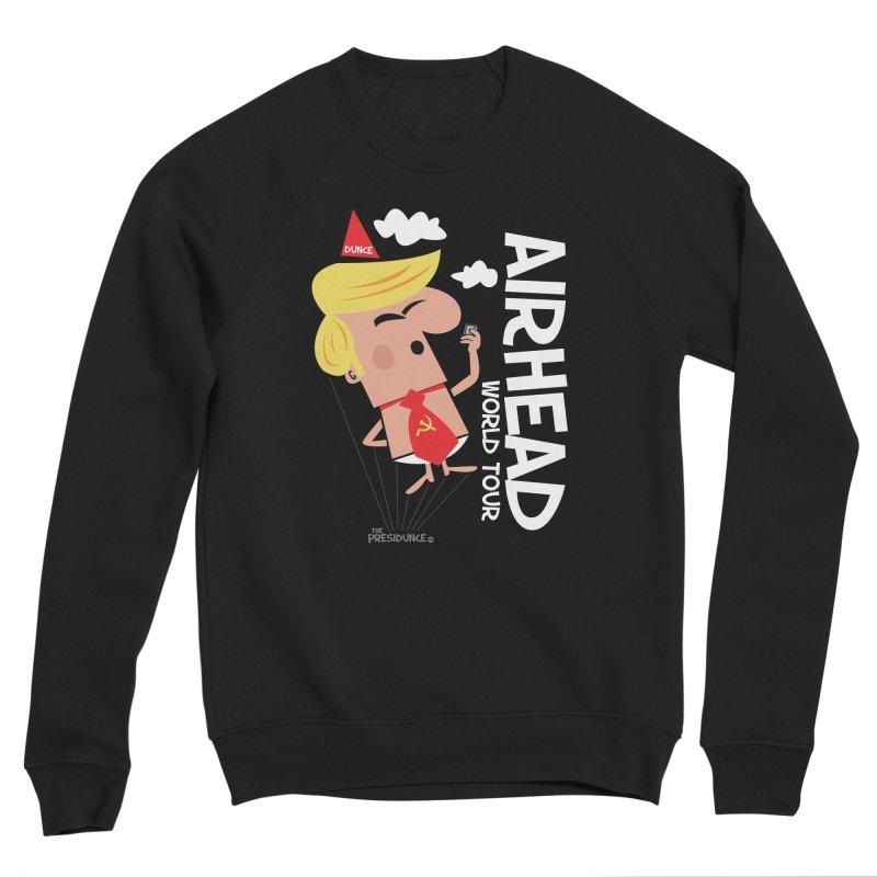 Airhead Men's Sponge Fleece Sweatshirt by thePresidunce