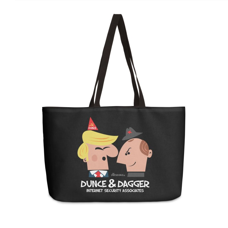 Dunce & Dagger Accessories Weekender Bag Bag by thePresidunce