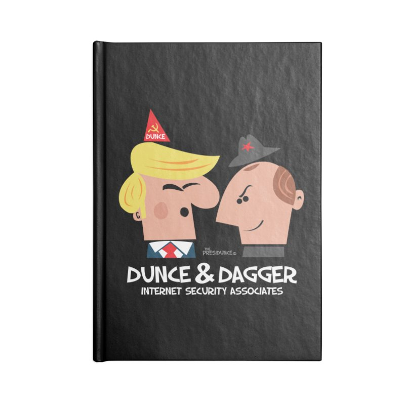 Dunce & Dagger Accessories Blank Journal Notebook by thePresidunce