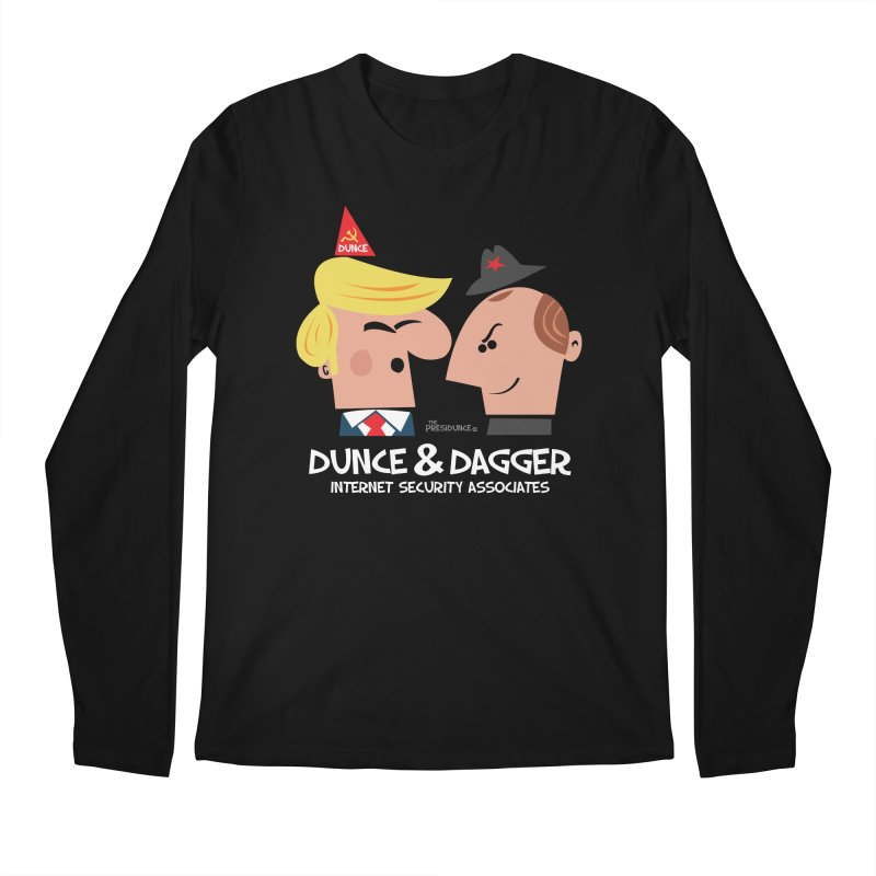 Dunce & Dagger Men's Regular Longsleeve T-Shirt by thePresidunce