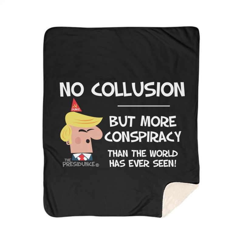 No Collusion Home Sherpa Blanket Blanket by thePresidunce