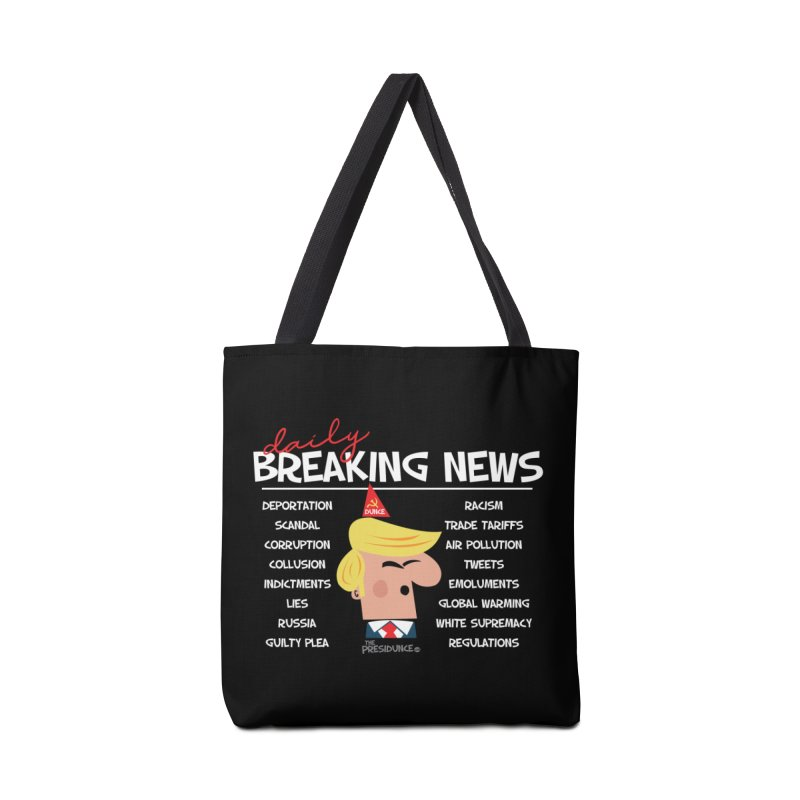 Breaking News Accessories Bag by thePresidunce