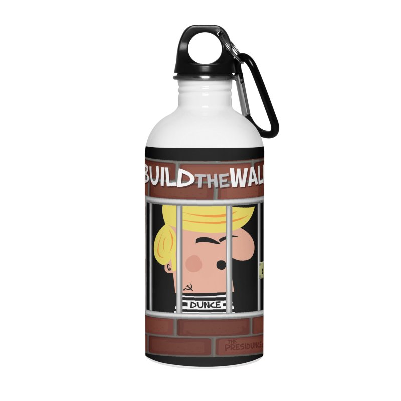 Build the Wall Accessories Water Bottle by thePresidunce