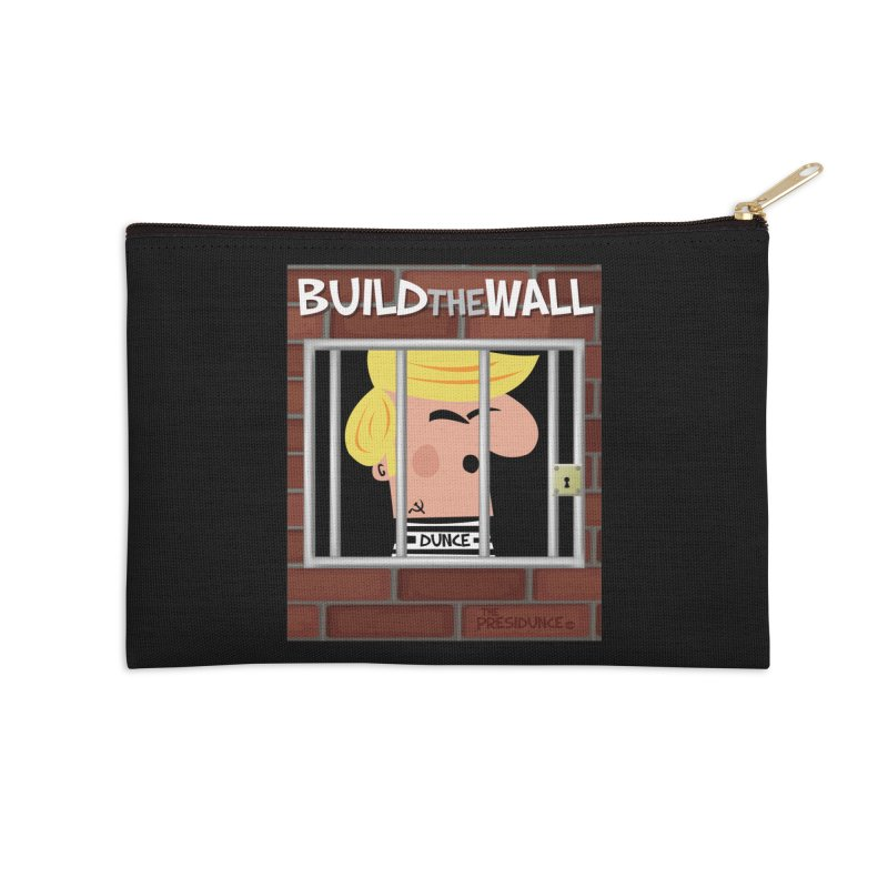 Build the Wall Accessories Zip Pouch by thePresidunce