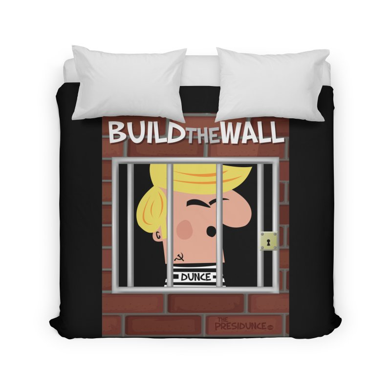 Build the Wall Home Duvet by thePresidunce