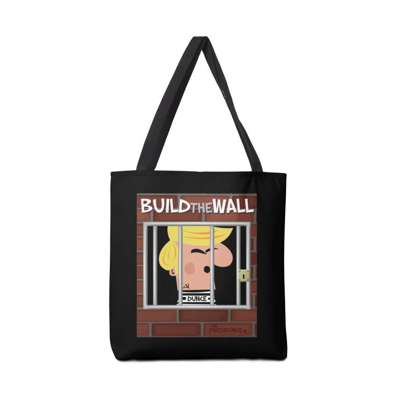 Build the Wall Accessories Tote Bag Bag by thePresidunce