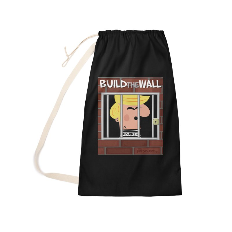 Build the Wall Accessories Bag by thePresidunce