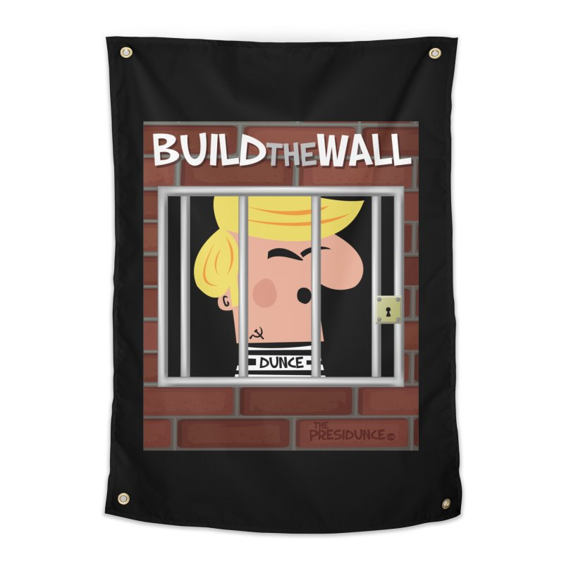 Build the Wall Home Tapestry by thePresidunce