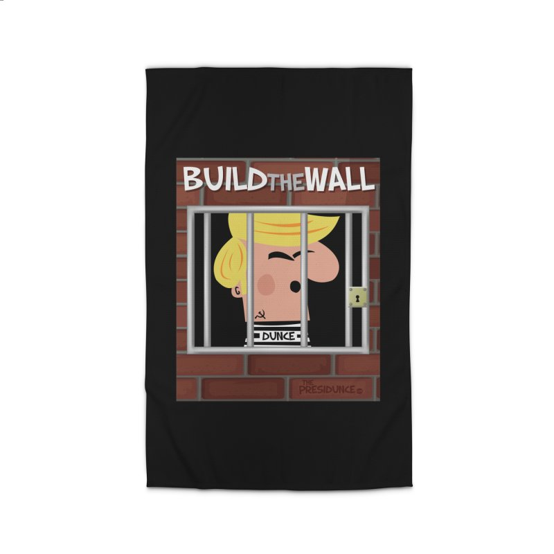 Build the Wall Home Rug by thePresidunce