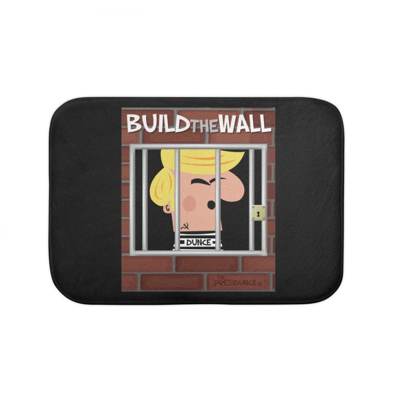 Build the Wall Home Bath Mat by thePresidunce