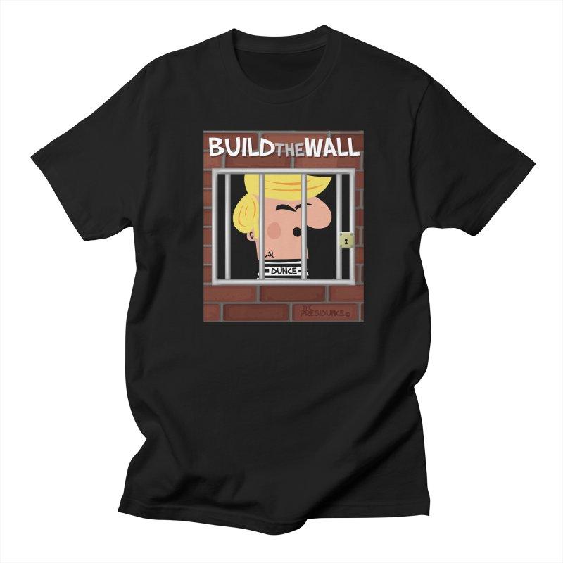 Build the Wall Men's Regular T-Shirt by thePresidunce
