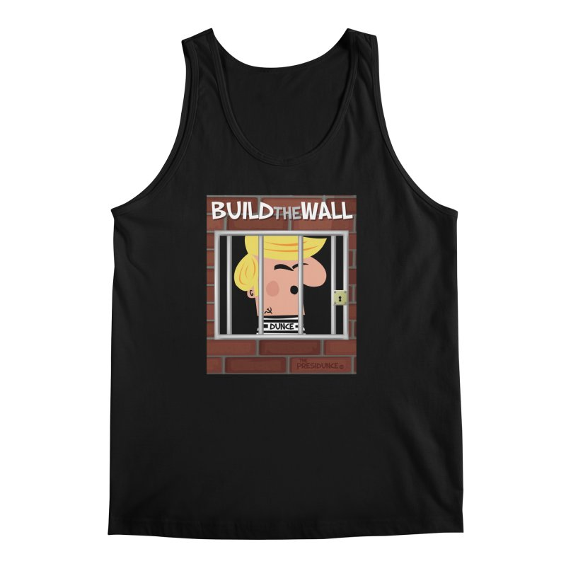Build the Wall Men's Regular Tank by thePresidunce