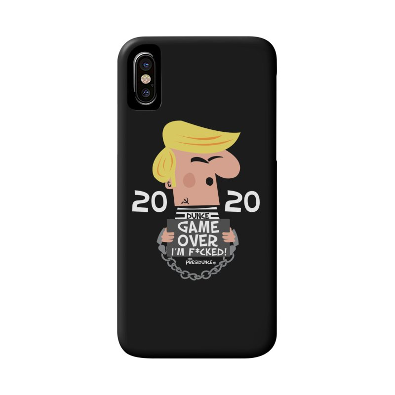 Game Over Accessories Phone Case by thePresidunce