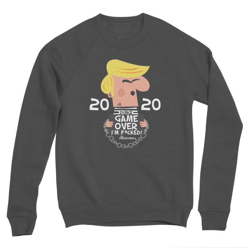 Game Over Men's Sponge Fleece Sweatshirt by thePresidunce