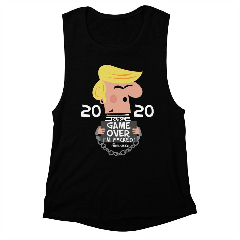Game Over Women's Muscle Tank by thePresidunce
