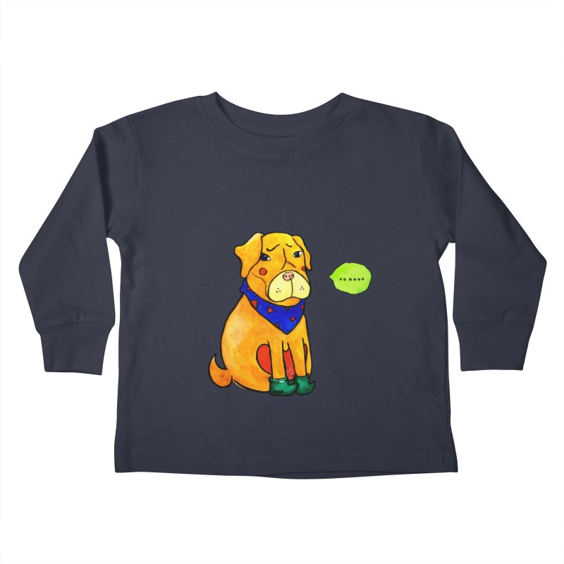 Coco Melancholic Kids Toddler Longsleeve T-Shirt by The Primate Design