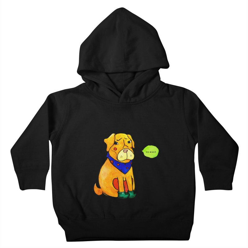 Coco Melancholic Kids Toddler Pullover Hoody by The Primate Design