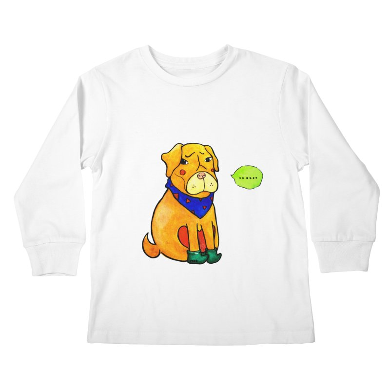 Coco Melancholic Kids Longsleeve T-Shirt by The Primate Design