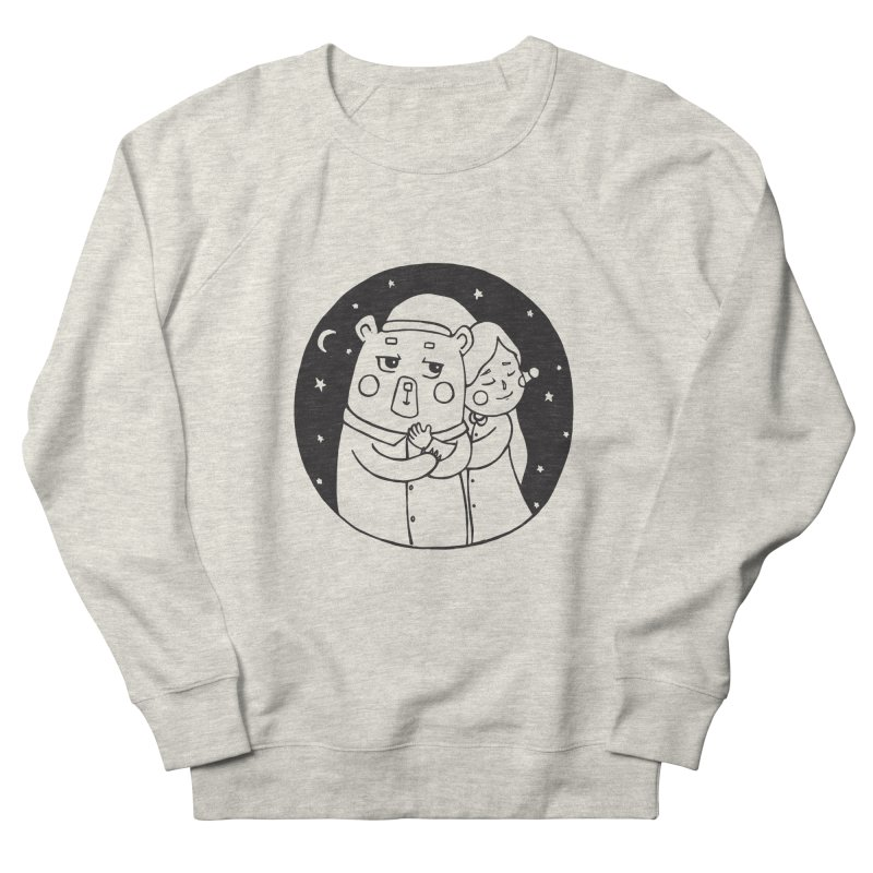 Bear With Me Women's Sweatshirt by The Primate Design