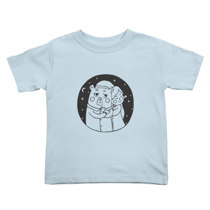 Bear With Me Kids Toddler T-Shirt by The Primate Design