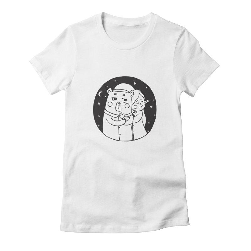Bear With Me Women's T-Shirt by The Primate Design
